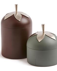 Klong -Blad-kaffe och teburk