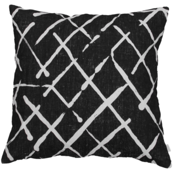 Mairo kudde Elastique 60x60 cm -svart