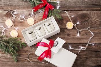 Klinta -doftljus-lilla julkollektionen