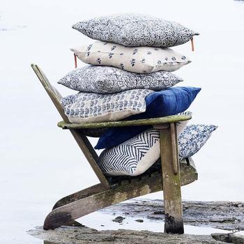 Chamois -Fairytale -Paradise -kuddfodral-blue