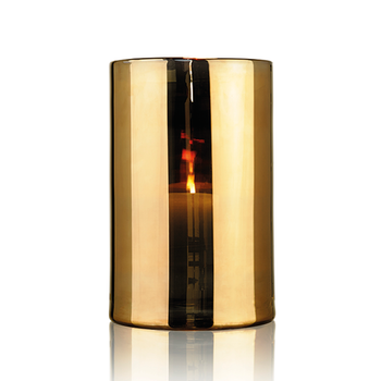 Skogsberg & Smart Hurricane lamp guld- small