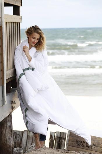 NYHET !BeachHouse påslakan Band-Ivory