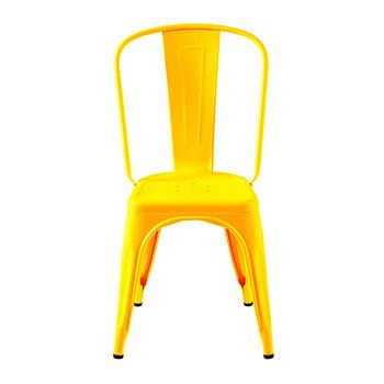 Tolix A stol ,basfärger, blank