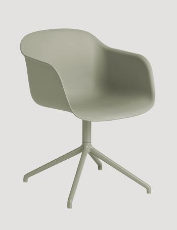 Muuto-Fiber armchair-swivel base