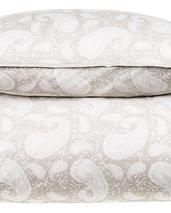 Chamois-big paisley-påslakan-beige