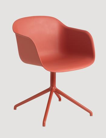 Muuto-Fiber armchair-swivel base