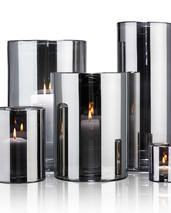 Skogsberg & Smart Hurricane lamp silver