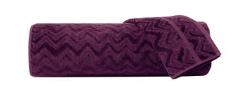 Missoni home handduk Rex 49 - aubergine, 3 storlekar