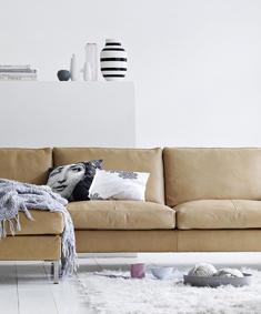 Eilersen soffa Odense med schäslong