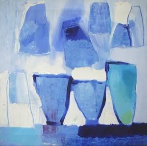 Blå kollektion