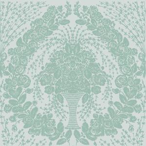Rose Vintage havsgrön