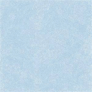 Prick vit på blå