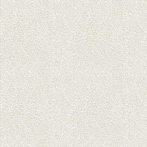 Mouse ear, White on beige