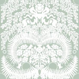 Stensöta vit/kall grön