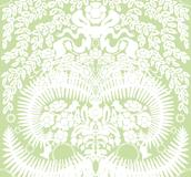 Stensöta vit / ljus ärtgrön