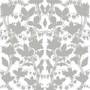 Silhuette vit grå