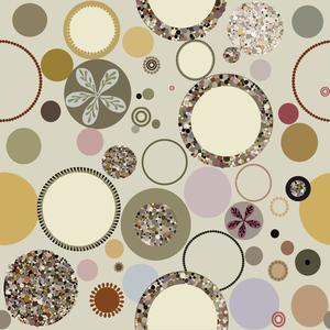 Cirkel dot, light nougat