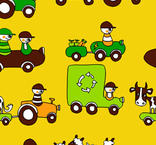 Tyg - Traktorer