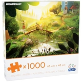 Moomin 1000-piece jigsaw - Moominvalley