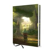 Moomin hard cover notebook - Snufkin