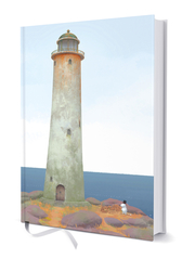 Moomin hard cover notebook - Moominpappa and the Lighthouse