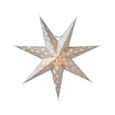 Silvia slim 60, vit silver glitter