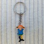 Pippi Longstocking keychain