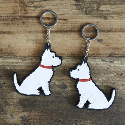 Nyckelring Westie/West Highland White Terrier