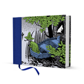 Moomin hardcover notebook - Escape