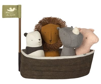 Maileg - Mini noshörning, Noah's friends