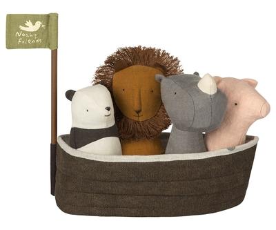 Maileg - Mini rhino, Noah's friends