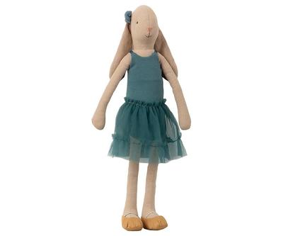 Maileg  - Medium Kaninflicka, Ballerina - Petrol
