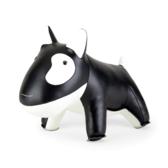 Züny Mini Hund - brevpress, svart/vit