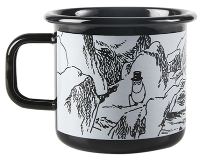 Moomin enamel mug 3,7 dl - Makia - Troll