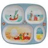 Mumin barntallrik med småfack - Our Sea, Muminfamiljen