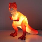 Dinosaur red - T-Rex Lamp, Euro plug