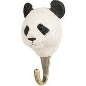Handcarved hook Panda