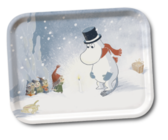 "Moomin tray ""Moominpapa Winterlight"""
