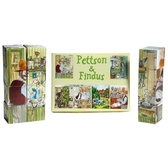 Pettson & Findus - Cube puzzle, yellow