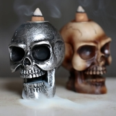 Small Skull Backflow Incense Burner