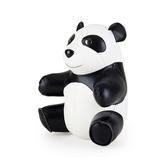 Züny Baby Panda - brevpress, svart/vit