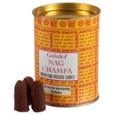 Goloka Backflow Nag Champa Rökelsekoner