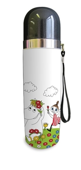 Moomin thermos flask, Snorkmaiden and Mymlan