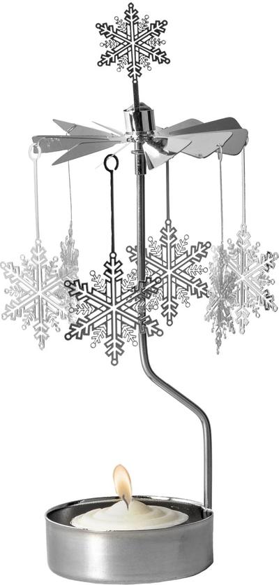 Änglaspel Snöstjärna, silver