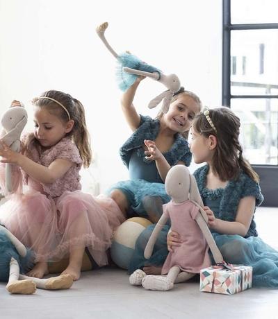 Maileg  - Medium Kaninflicka, Ballerina - Rose
