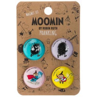 Mumin magneter, 4-pack - Pranking