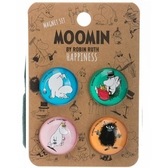 Mumin magneter, 4-pack - Happiness