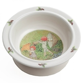 Elsa Beskow bowl with suction cup, Tomtebobarnen