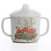 Elsa Beskow mug with non spill function, Tomtebobarnen