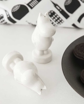 Salt och pepparkar - Muminfigur, vit